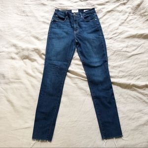 Frame Denim Ali High Rise Skinny Jean